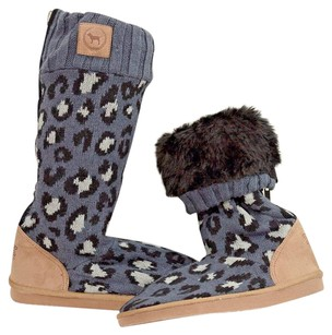 Victoria's Secret Victorias Boot Mukluk Gray Boots