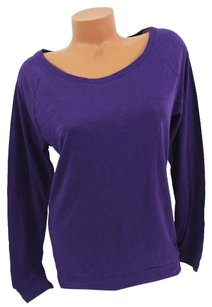 Victoria's Secret Victorias Pink Slouchy T Shirt Purple