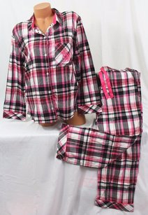 Victoria's Secret Victorias Secret Set Dreamer Pj Setflannel Pajama Blackpink Plaid