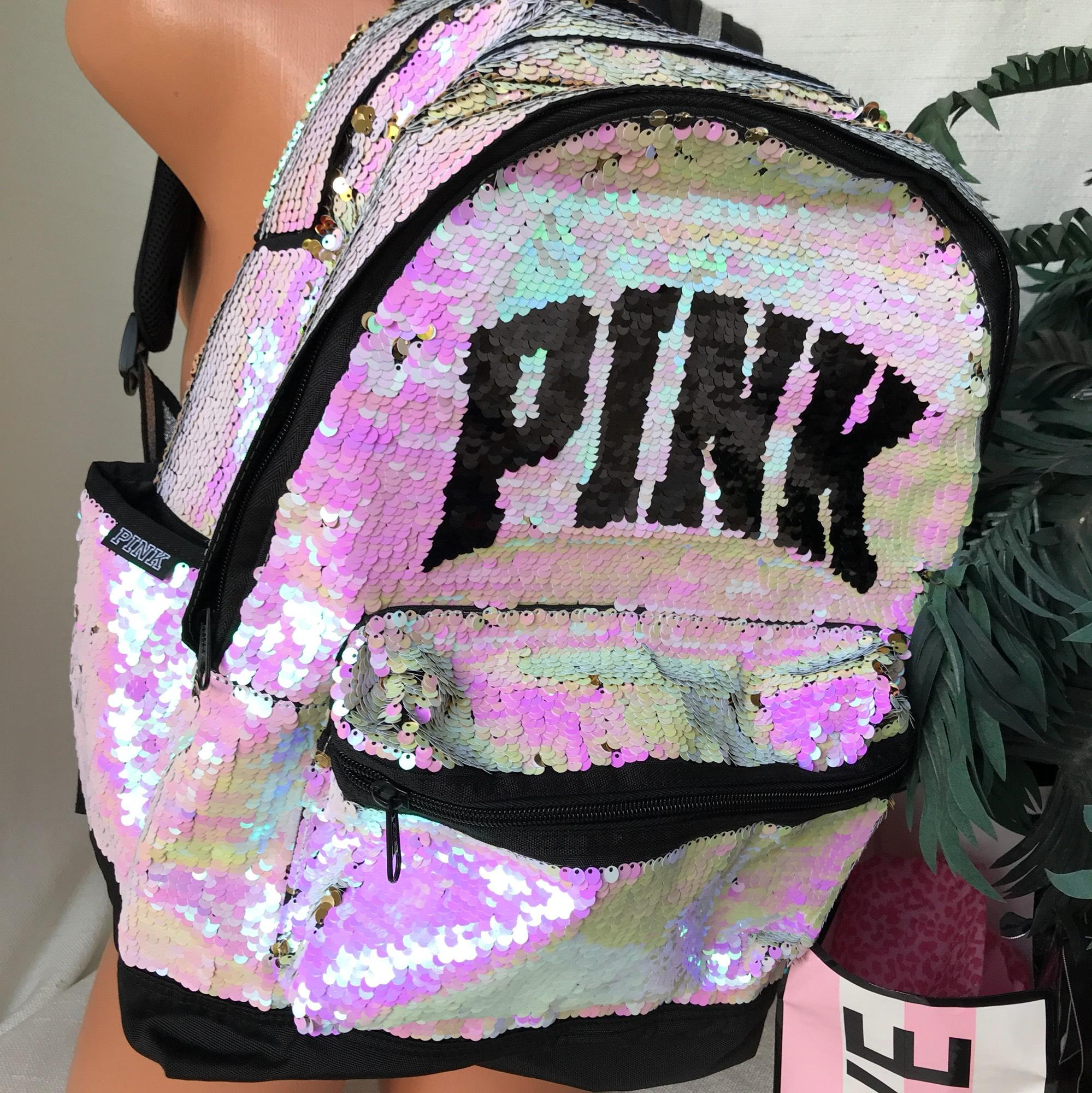 Victoria Secret Pink Sparkle Backpack- Fenix