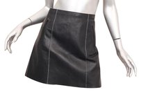 Vince Womens Classic Casual Skirt Black