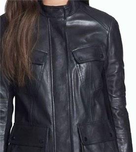 Vince Blac Leather Jacket
