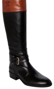 Vince Camuto Black and Russet Boots