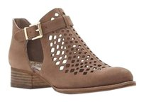 Vince Camuto Cadey Laser Cut SMOKE TAUPE OIL NUBUCK Boots