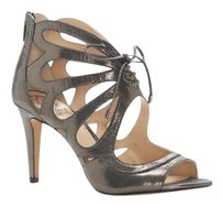 Vince Camuto Calivia Cutout TITANIUM POWDERED GLITZ SUEDE Sandals