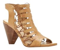 Vince Camuto Eliaz Cord Cone Heel VINTAGE TAUP BURNISHED LUX LE Sandals