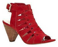 Vince Camuto Elika Cutout red Sandals