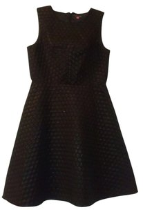 Vince Camuto Flare Bottom Polka Dot Dress