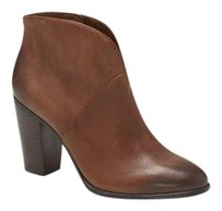 Vince Camuto Franell Notched RICH COGNAC LUX TIE DYE Boots