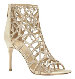 Vince Camuto Imagine SOFT GOLD SATIN/SHIMMER SAND P Sandals