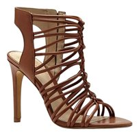 Vince Camuto Kourtny Knotted Straps High Heel High Heel Pump Size 8 New Luggage Tan brown Sandals