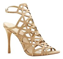 Vince Camuto Kristana Cage High Heel Tan sandy lane Sandals