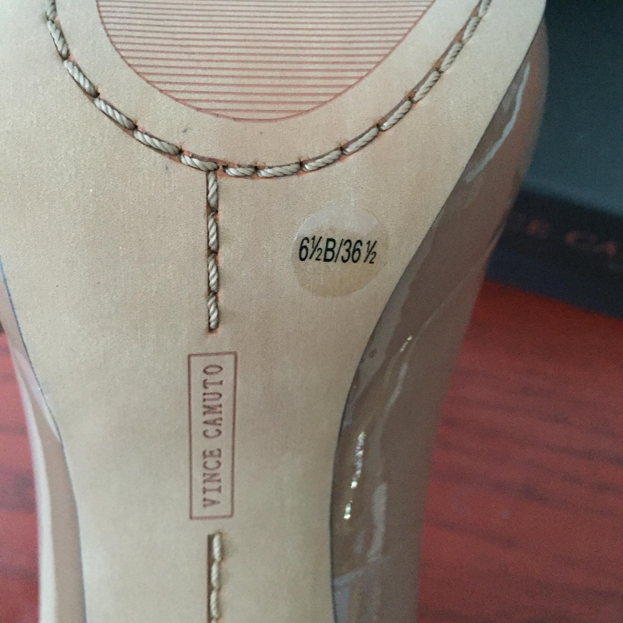 vince camuto nu plates ordinaires - formes ordinaires plates (taille mayna nous 6.5 m, b) 3e4f9b
