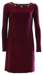 Vince Camuto Red Wine Dress