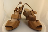 Vince Camuto Womens Tan Pumps