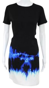 Vince short dress Black Blue White on Tradesy