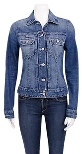 Vince Jean Light Stretch Womens Jean Jacket