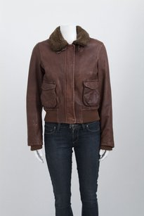 Vince Tan Distressed Brown Jacket