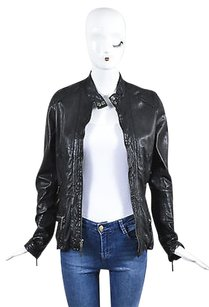 Vince Leather Center Motorcycle Jacket