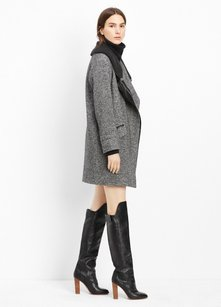 Vince Ribbed Knit Trench Coat