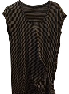 Vince Top black and white stripe
