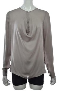 Vince Womens Gray Top Taupe