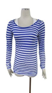 Vince White Striped Tunic