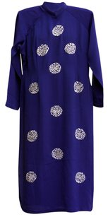 Royal Blue Maxi Dress by Vintage Asian Tunic