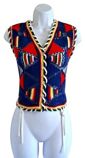 Other Rainbow Knit Vintage 90s 1990s Vest