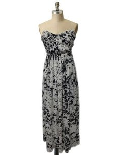 white and black Maxi Dress by W118 by Walter Baker Macys