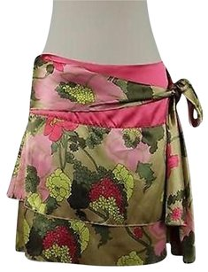 W118 by Walter Baker Womens Floral Skirt Multi-Color