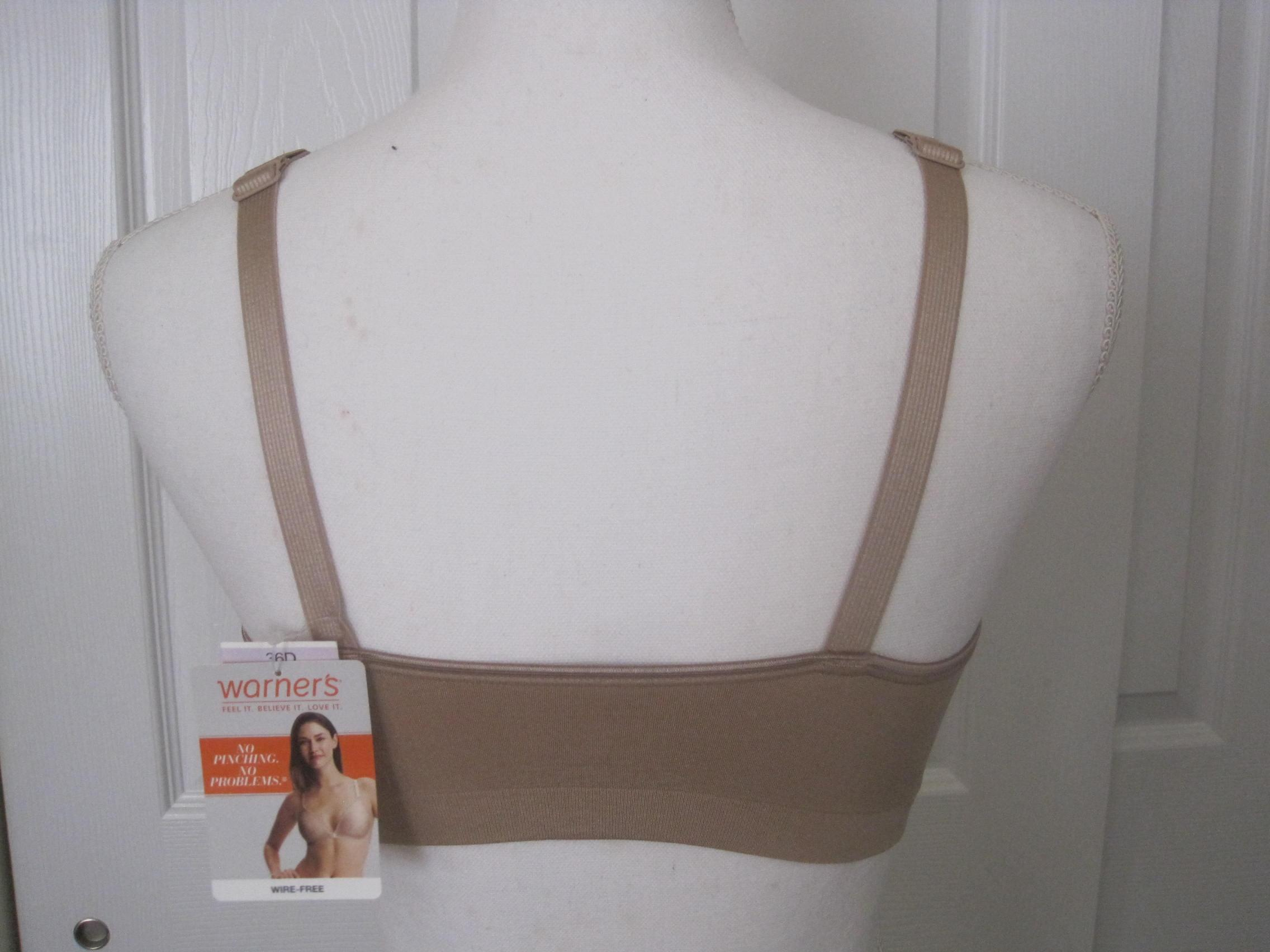 Front Close No Wire Bra | Warner S Toasted Almond No Pinching No Problems Wire Free Front