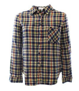 WAYF 100-cotton Button-down-shirt Top