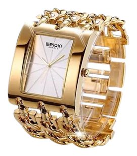 Weiqin 18k Gold Plated Wrist Watch