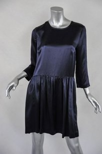 Whistles short dress Black Topshop Womens 34 Sleeve Silk 840 on Tradesy