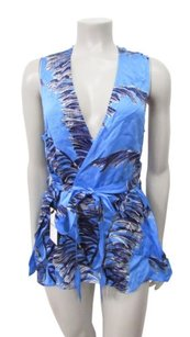 Whistles Honu Bamboo Print Top Multi-Color