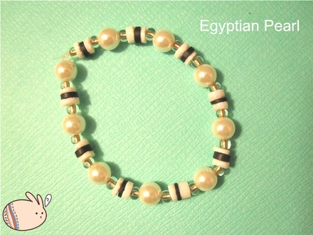 Other Egyptian Pearl - Pearl Bracelet Elastic Band, Handmade