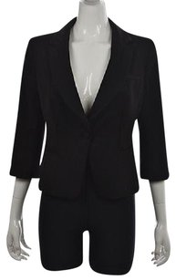 White House | Black Market White House Black Market Womens Black Blazer Wtw 34 Sleeve Jacket