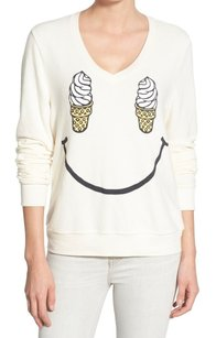 Wildfox Long Sleeve New With Tags Sweater