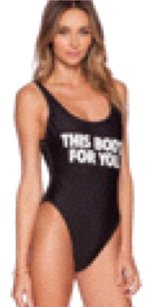 Wildfox WILDFOX COUTURE this bods for you swimsuit Sz S new