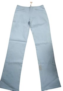 Other Slim Fit Blue Casual Skinny Pants Powder Blue