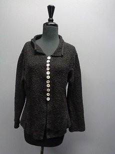 Willow & Clay Button Down Princess Line Long Sleeved Sm6951 Sweater