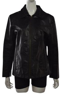 Wilsons Leather Womens Black Jacket