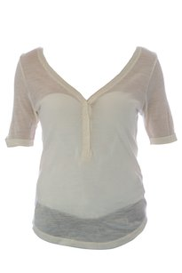 With & Wessel & Womens Withwessel_shirt_a303_cream_xs Sweater