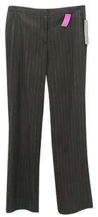 Worth Charcoal Red White Pin Pants