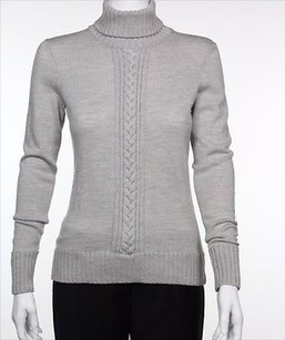 Worth Womens Solid Top Gray