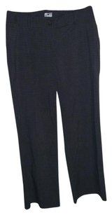 Worthington Trouser Pants black/ white stripe