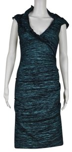 Xscape Womens Turquise Dress