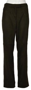 Yansi Fugel Womens Textured Casual Polyester Trousers Pants