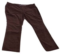 YMI Jeans Soft Stretchy Cotton Corduroy Straight Pants Brown